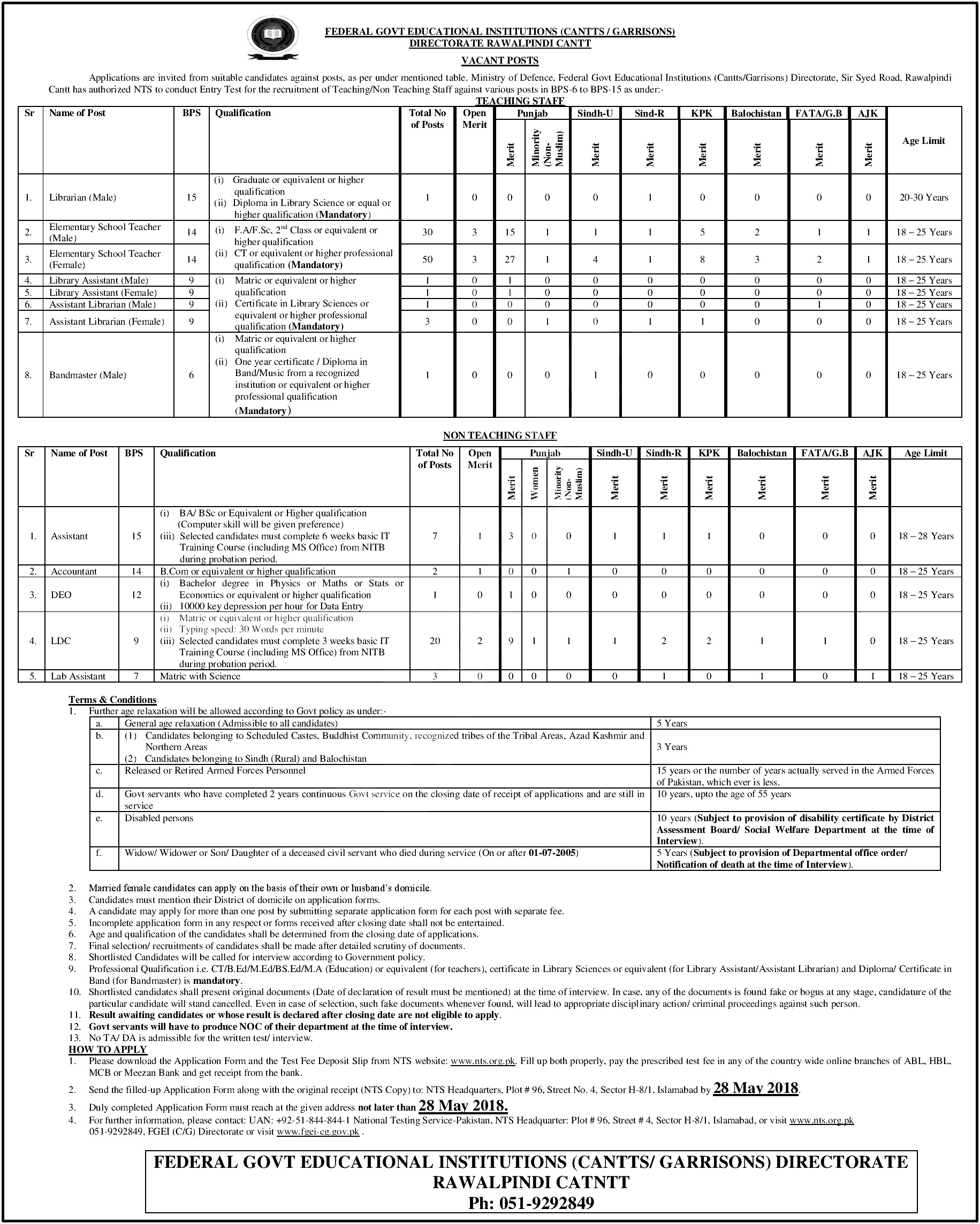 govt job application form format
