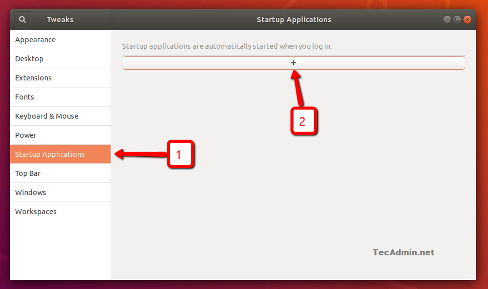 how to remove application from startup