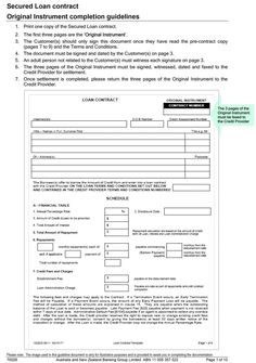 business loan application form sample pdf