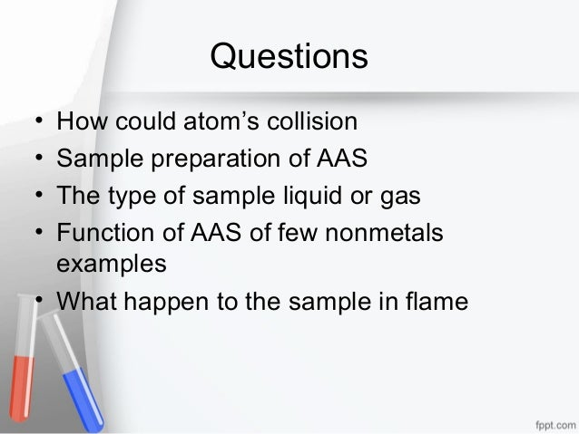 uses of atomic absorption spectroscopy applications