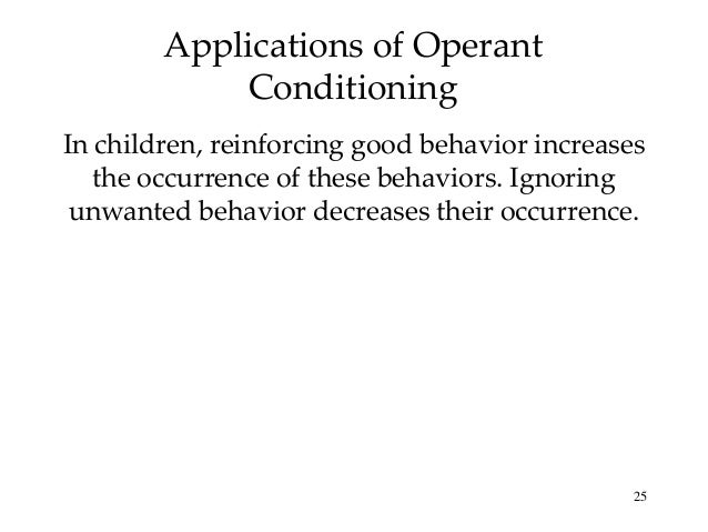 applications of classical conditioning in the classroom