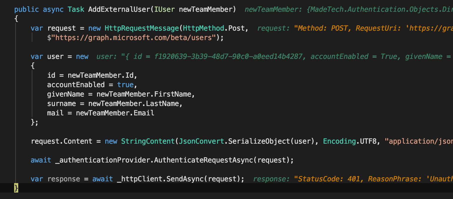 azure ad assign user to application