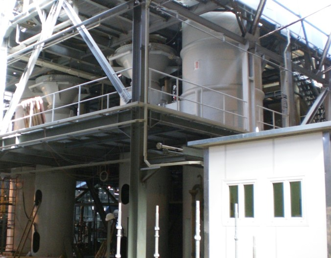 application of fluidization in chemical industries