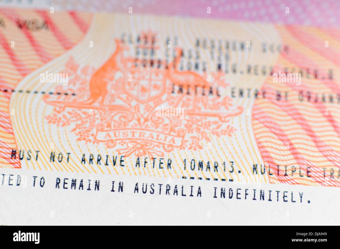 photo for australian visa application