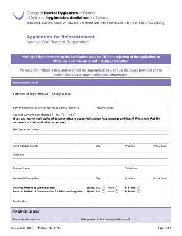vit application for full registration
