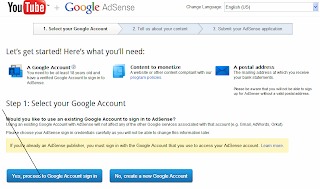your adsense application has been submitted and is being reviewed