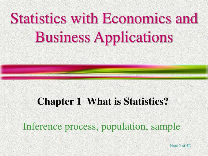 application of statistics in business