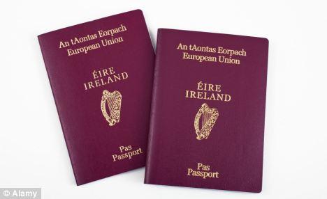 irish passport online application form