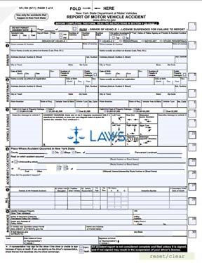 vehicle accident information application form