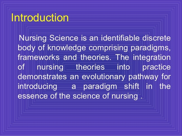 application of nursing theory in clinical practice