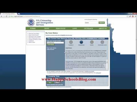 check immigration application status online