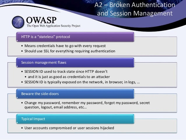 owasp top 10 application security risks 2017