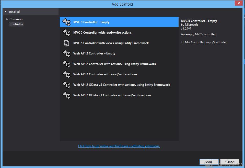 asp net mvc 3 web application