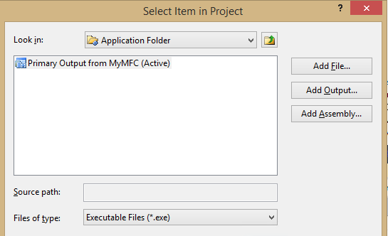 clickonce application deployment support library