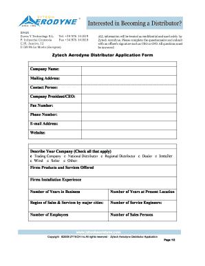 fill in job application form