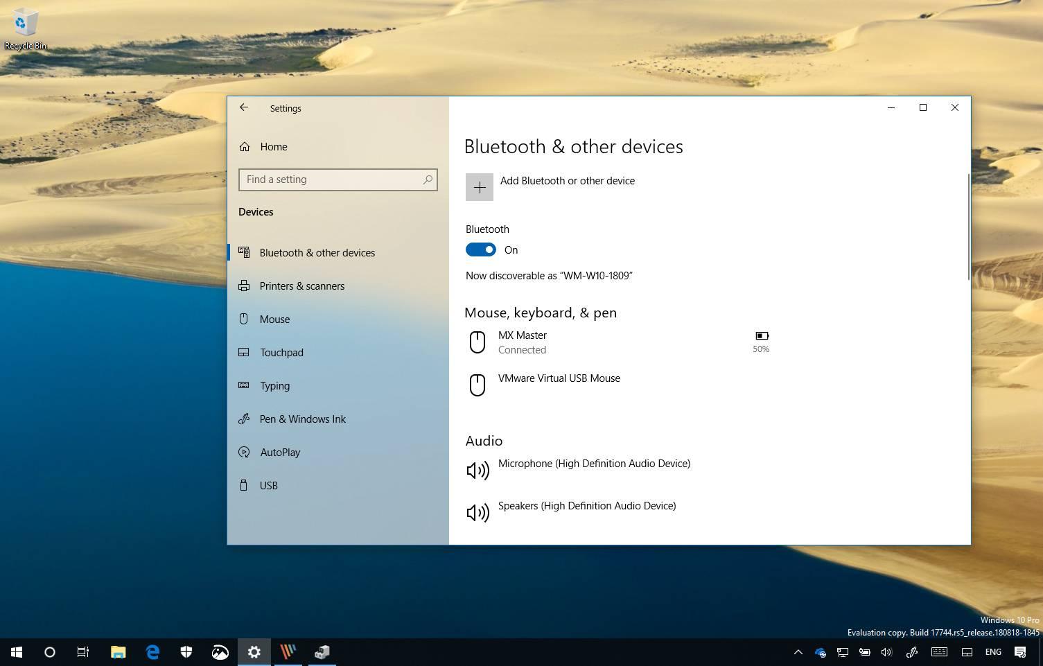 bluetooth application for windows 7