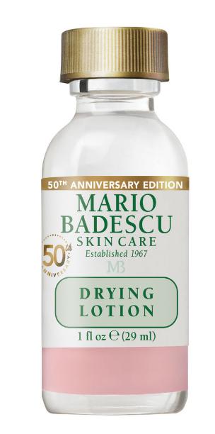 mario badescu drying lotion application