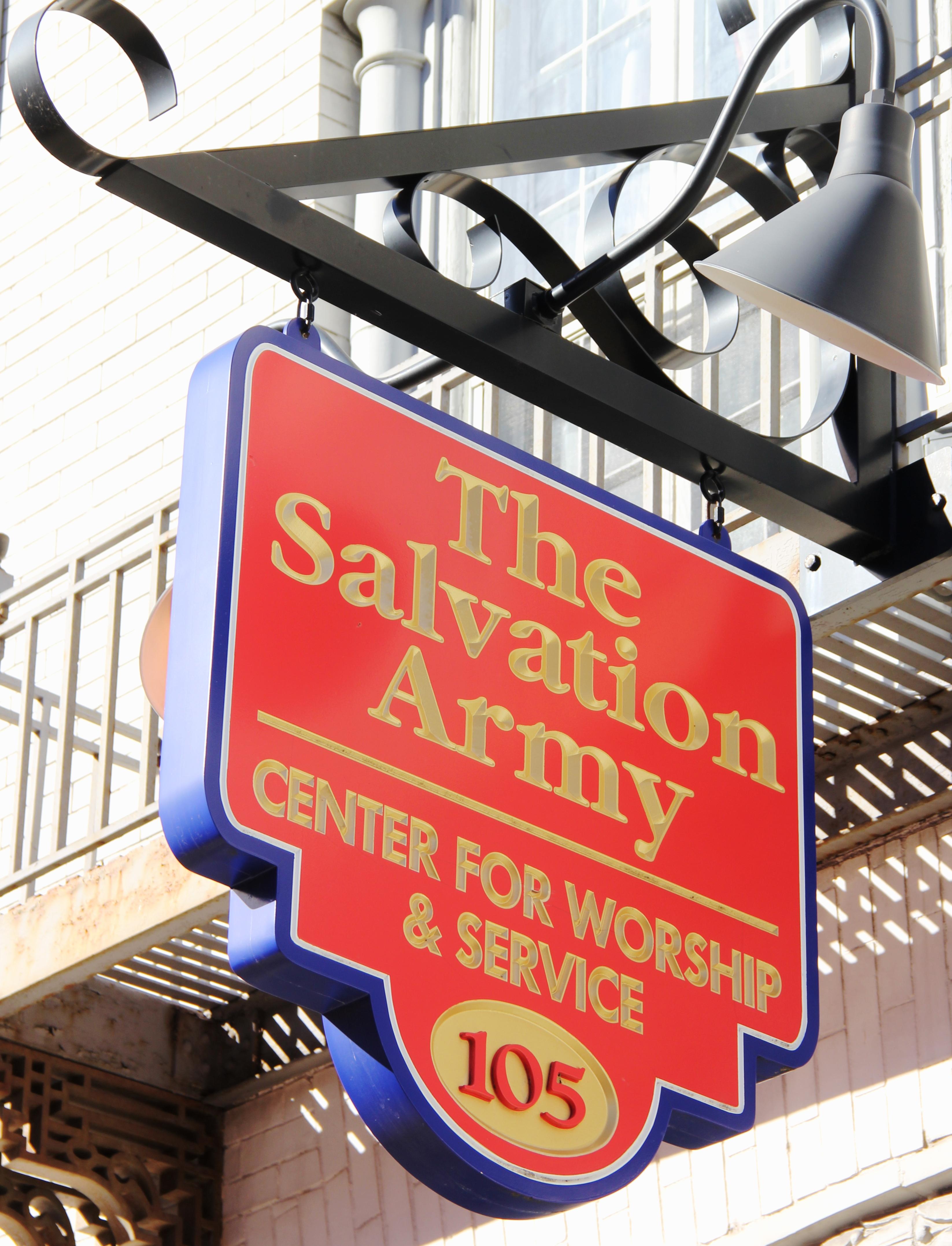 salvation army community service application