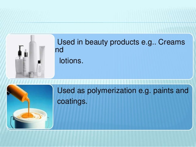 application of emulsion in cosmetics