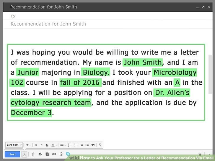 how to ask for a job application via email