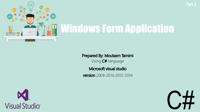 windows form application in c# with database