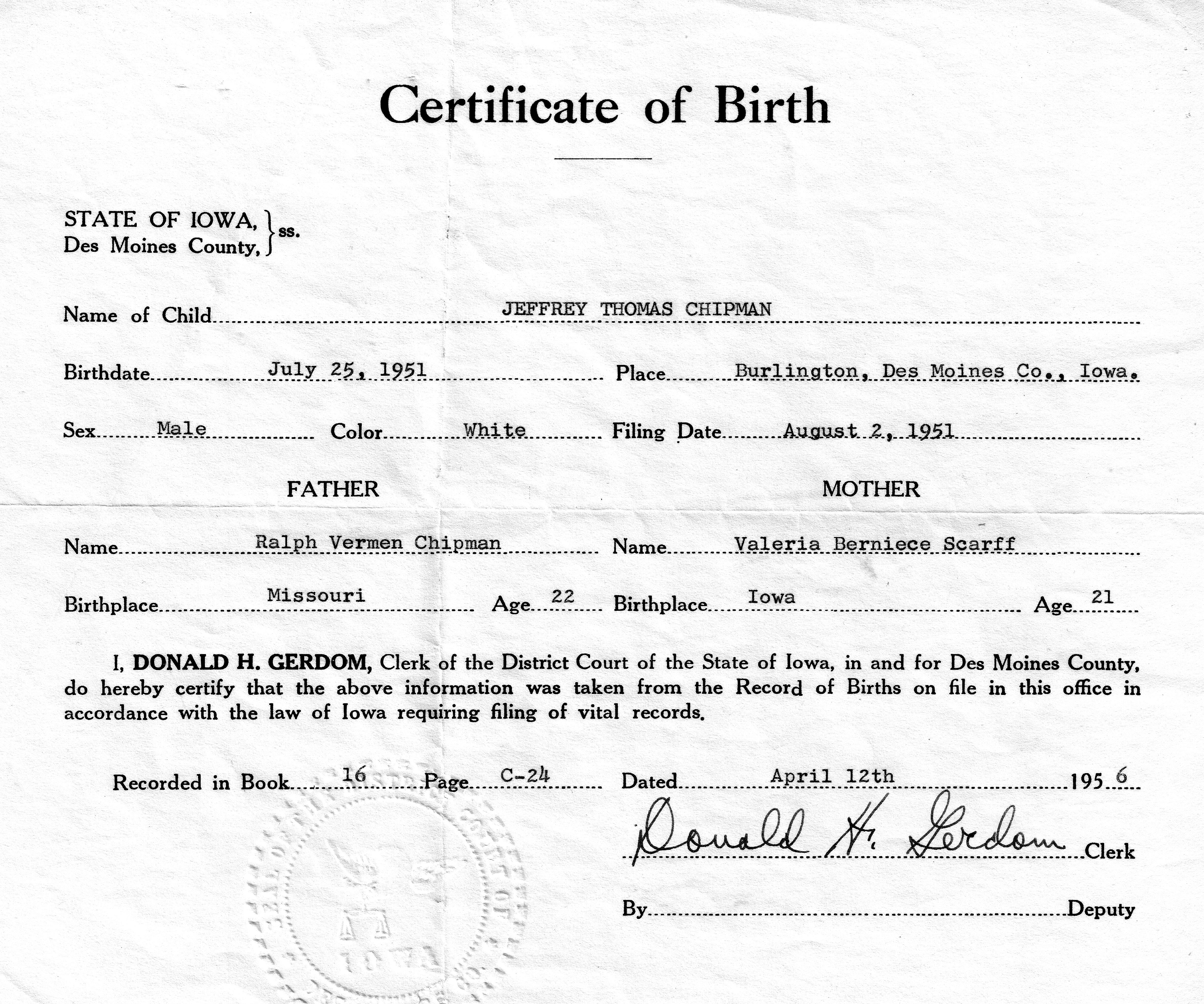 application for birth certificate victoria