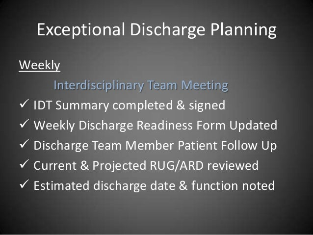 application to discharge care order
