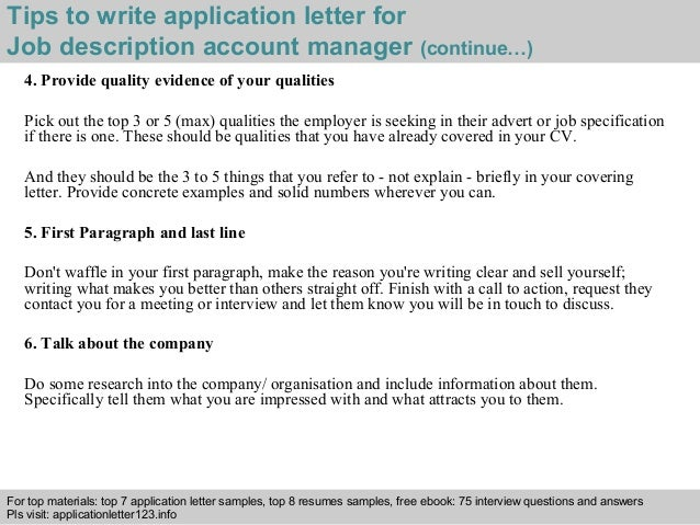 how to write application for employment
