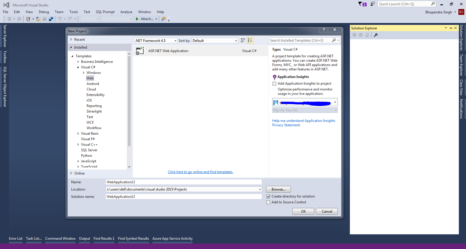 how to create mvc application in visual studio 2010