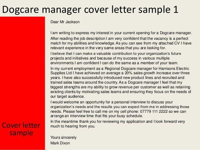 deputy head letter of application