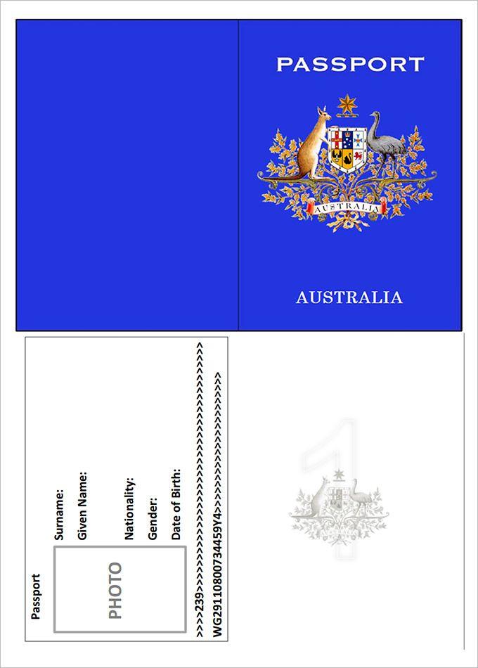 australian child passport application pdf