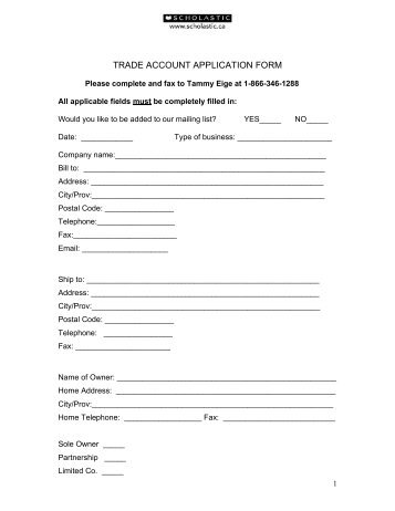 dulux trading account application form