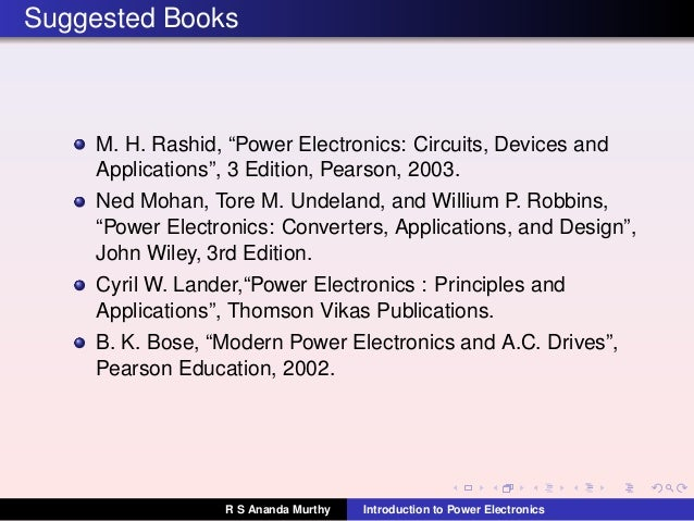 power electronics converters applications and design ned mohan pdf