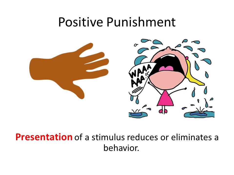 punishment by application psychology definition