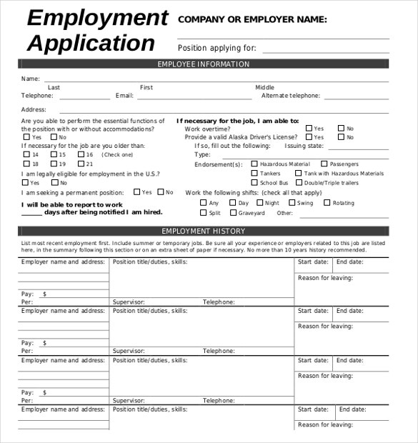 mcdonalds application online for employment
