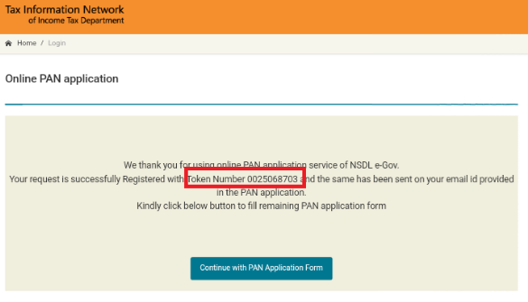new pan card online application form india