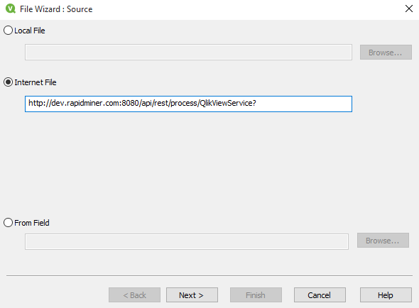 qlikview integration with web application