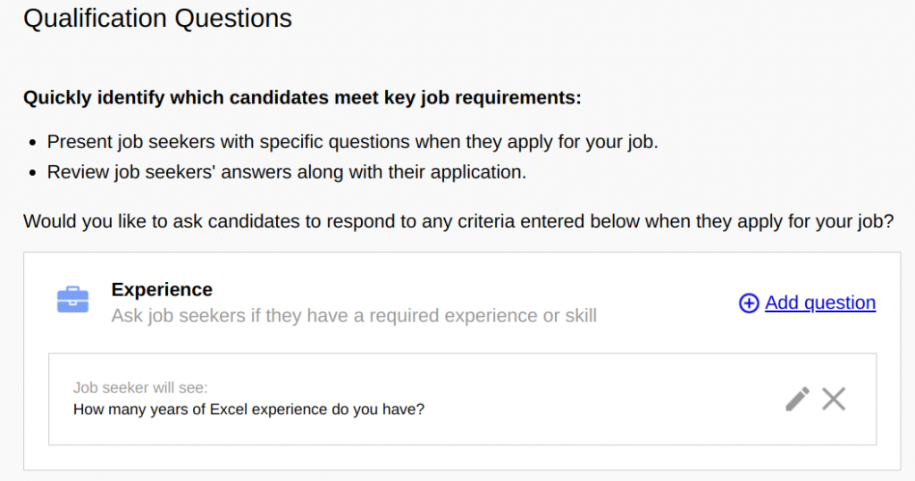 sample test questions for job applicants