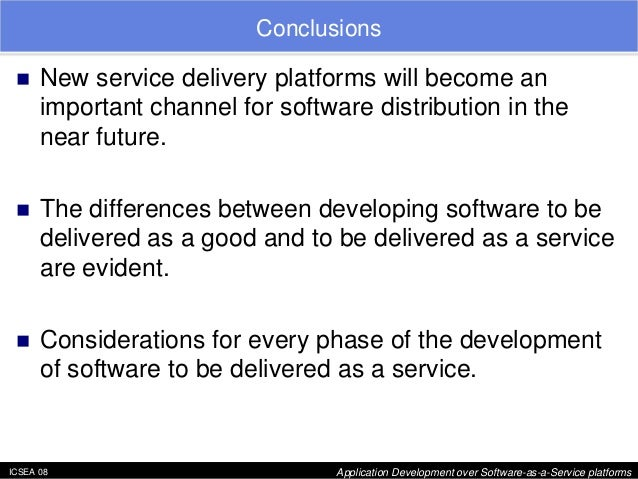 software as a service applications