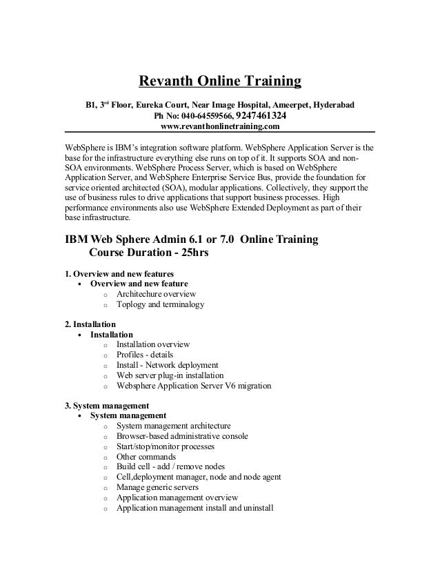 websphere application server administration tutorial