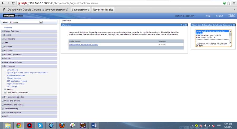 websphere application server v8 5.5 administration