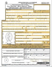 where to take passport application